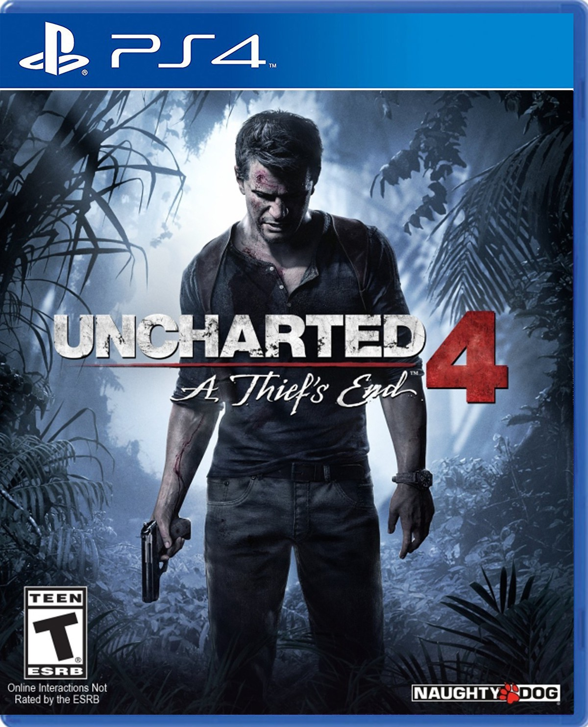 UNCHARTED  A THIEF´S END 4 (SEMINUEVO)